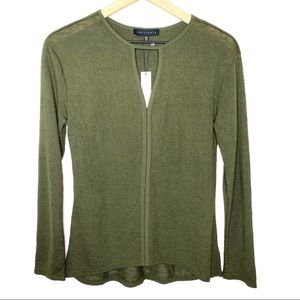 Sanctuary Army Green Lightweight Sweater Size XS